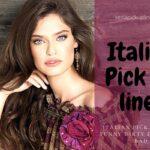 best italian pick up lines 2021